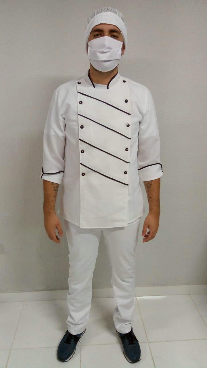 Uniforme masculino cozinheiro