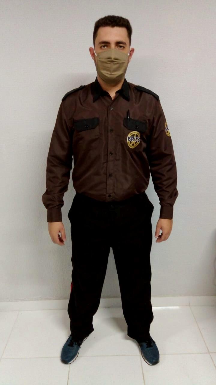 Uniforme masculino segurança